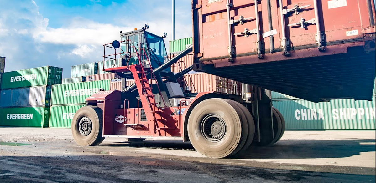 Straddle Carriers, Container Handlers, Cranes, Terminal Tractors & Transports, Container Forklifts