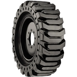 36x14-20  14-17.5 Construction Tires & Tracks 36x14-20  (14-17.5) Traction Left HPS Solidflex (Assembly)