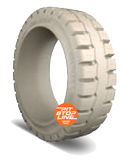 16-1/4x7x11-1/4 Forklift Tires 16-1/4x7x11-1/4 Traction Non Marking Trelleborg PS1000 Multi-Purpose Press-On Tire