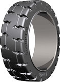 18x6x12-1/8 (457/152-308) Forklift Tires 18x6x12-1/8 Traction Continental PT18 STB A Solid Press-on Forklift Tire (457/152-308)