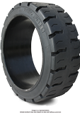 21x7x15 Forklift Tires 21x7x15 Traction Black Rhino R1 Solid Press-on Forklift Tire