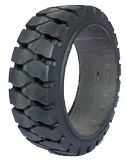 18x7x12-1/8 Port Tires 18x7x12-1/8 Traction Rhino R-2 Solid Press-on Forklift Tire
