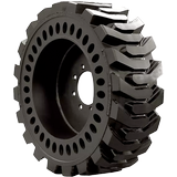 36x7x11 Construction Tires & Tracks 36x7x11 (14-17.5) Traction Left Mold-On (Aperture) Brawler Solidflex Solid Tire