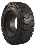 300-15 Forklift Tires 300-15/8.00 Traction Black Standard Cut Resistant Trelleborg Elite XP Solid Pnuematic Tire (8.00 Standard rim)