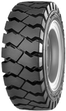 28x9-15 (8.15X15) Forklift Tires 28x9-15 (8.15X15)/14PR Continental Extra Deep IC40 Industrial Pneumatic Tire (flap & tube extra)