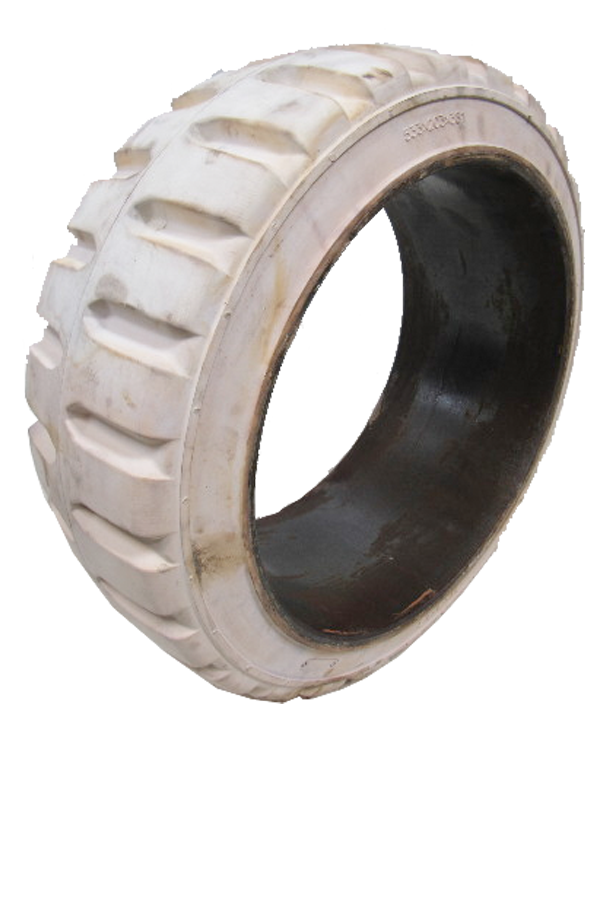 15x5x11-1/4 Construction Tires & Tracks 15x5x11-1/4 Traction Non Marking MITL Solid Press-on Tire