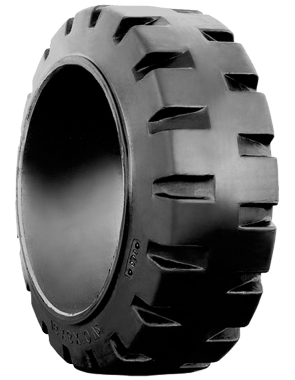16x7x10-1/2 Forklift Tires 16x7x10-1/2 Traction  MITL Solid Press-on Tire