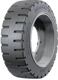 18x6x12-1/8 Forklift Tires 18x6x12-1/8 Traction General LifeCycle Solid Press-on Forklift Tire