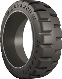 16x5x10-1/2 Construction Tires & Tracks 16x5x10-1/2 Traction  Monarch Rubber Press-On (Crown)