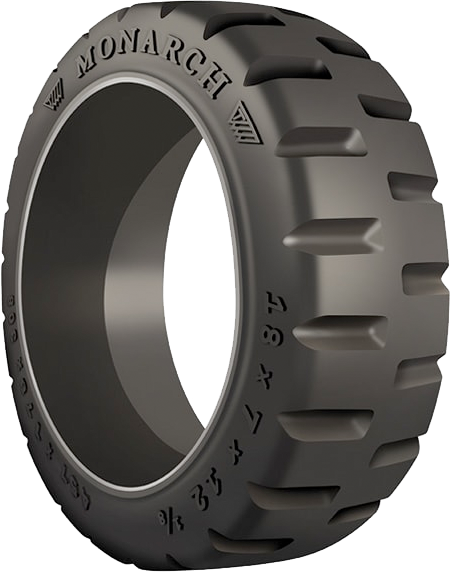 16x7x10-1/2 Construction Tires & Tracks 16x7x10-1/2 Traction  Monarch Rubber Press-On (Crown)