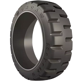 16x6x10-1/2 Forklift Tires 16x6x10-1/2 Traction Trelleborg Orca  Solid Forklift Tire Press-On