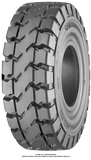 7.50-15 Forklift Tires 7.50-15/6.50 Traction Black SIT Continental SC20 Solid Pneumatic Tire (6.50 SIT Rim)