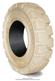 4.00-8 Port Tires 4.00-8/3.00 Traction Non Marking Rhino Rubber Forte Solid Pneumatic Tire (3.00 Standard Rim)